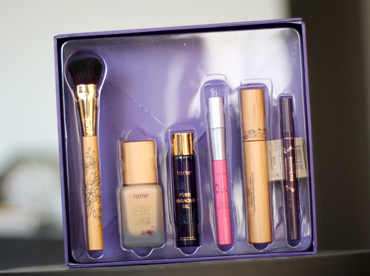 tarte what has your makeup done for you lately box
