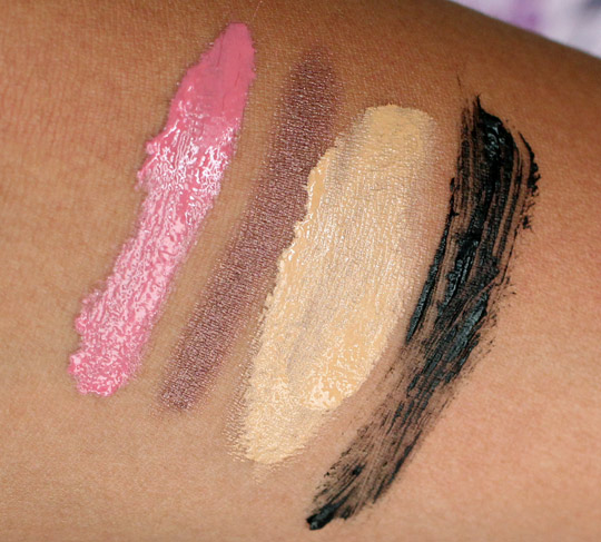 tarte what has your makeup done for you lately swatches