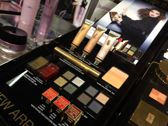 YSL Fall 2012 makeup collection