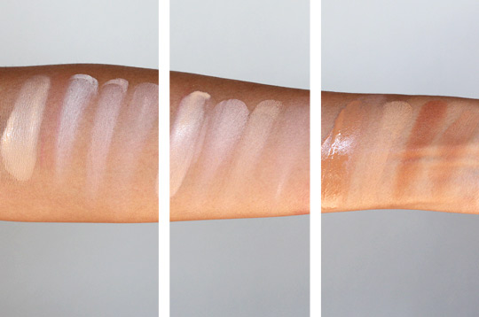 benefit how to look the best at everything swatches