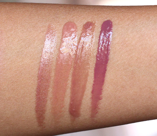 bobbi brown desert twilight gloss swatches