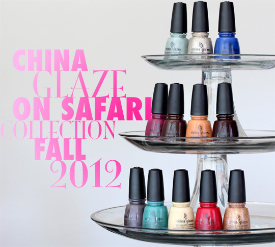 china glaze on safari collection