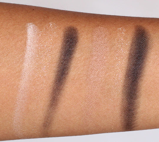 dior ivory glow nude glow swatches