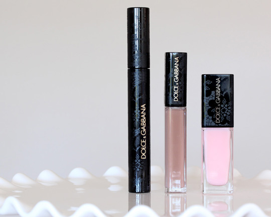 dolce gabbana lace collection product shot