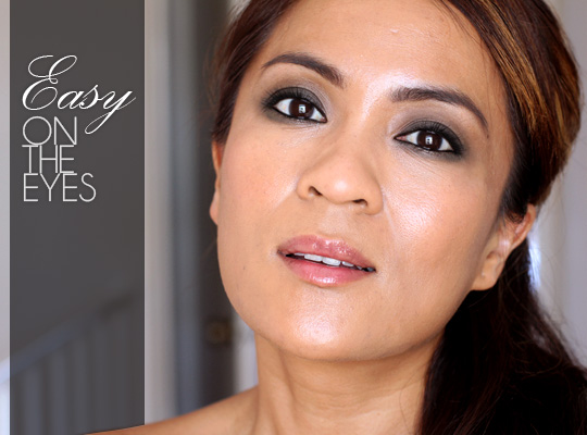 Easy On The Eyes A Super Simple Smokey Eye With Brown And