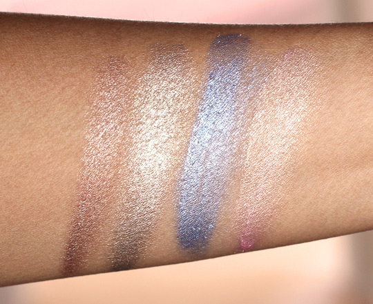 essence stay all day long lasting eyeshadow swatches