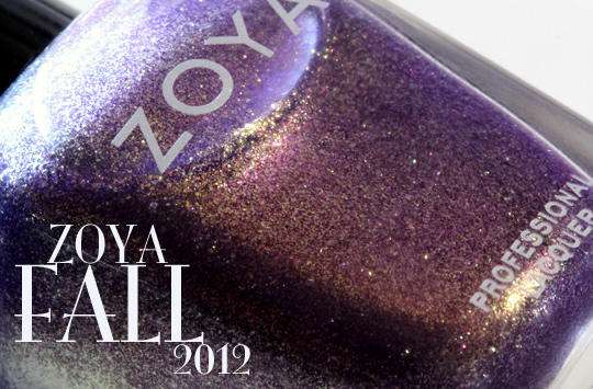 zoya designer, diva and gloss collections for fall 2012