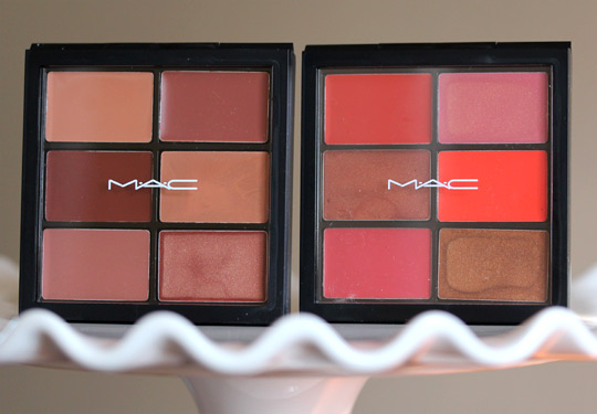 MAC Modern Browns Editorial Oranges Pro Lip Palette 6