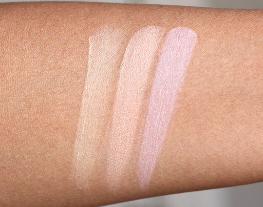 benefit perk-up artist swatches