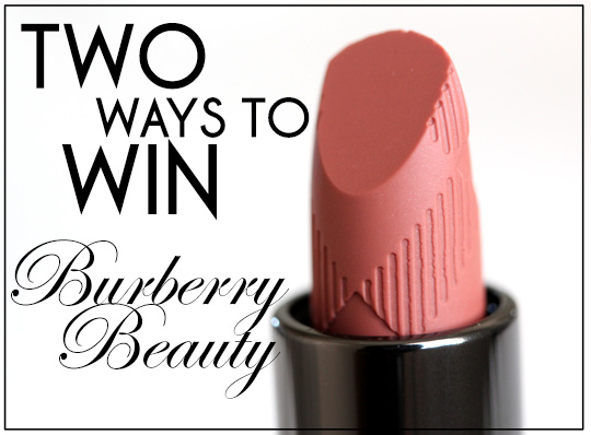 burberry beauty giveaway