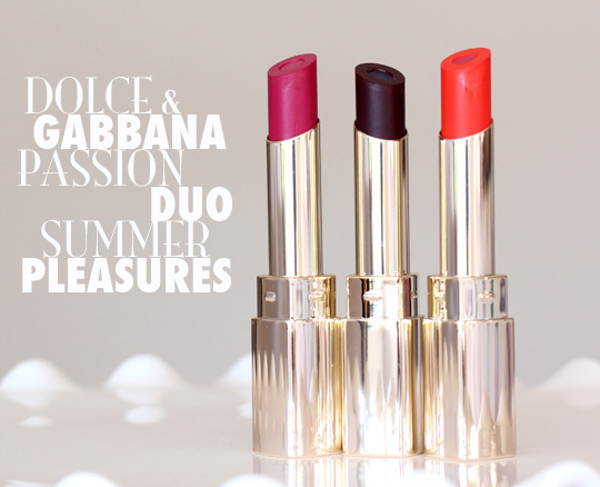 dolce gabbana passion duo summer pleasures