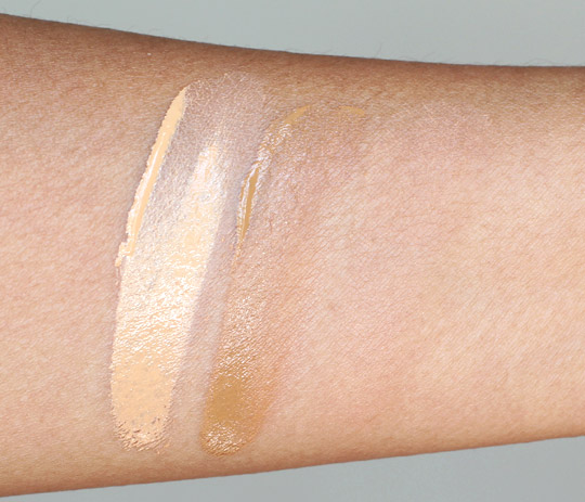 how to apply foundation tutorial swatches