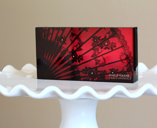 make up for ever black tango palette closed