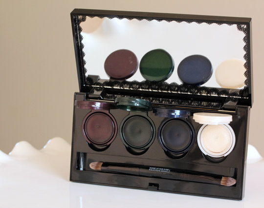 make up for ever black tango fall 2012 open
