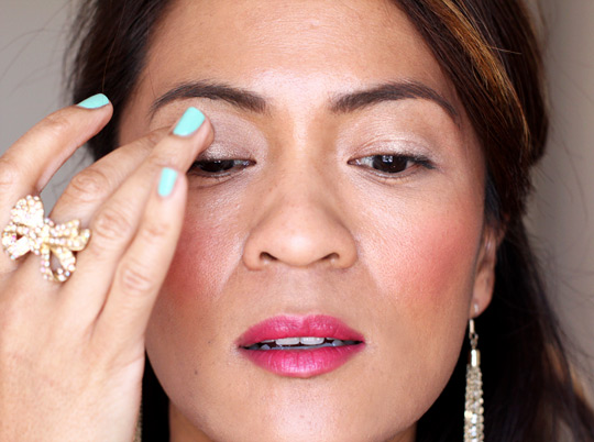 purple eye makeup tutorial 1