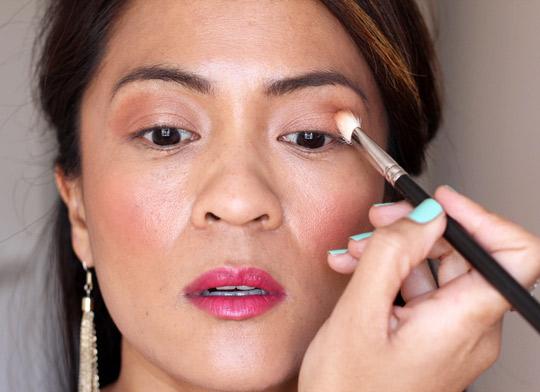 purple eye makeup tutorial 2