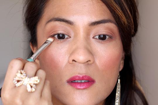 purple eye makeup tutorial 3