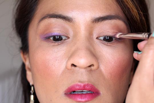 purple eye makeup tutorial 4