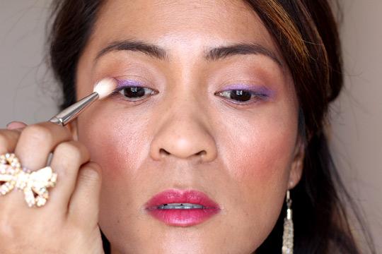 purple eye makeup tutorial 5