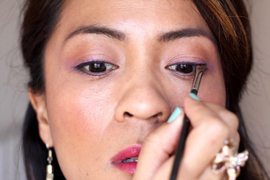 purple eye makeup tutorial 6