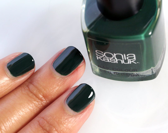 Sonia Kashuk Emerald City swatch