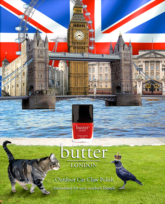 Tabs for Butter London Cat Claw Polish