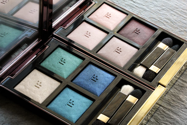 Tom Ford Eye Color Quad in Emerald Lust and Enchanted