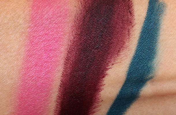 Tom Ford Narcissist Plum Exotic Teal swatches