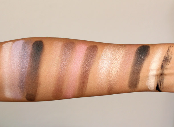 Too Faced Color Confections swatches