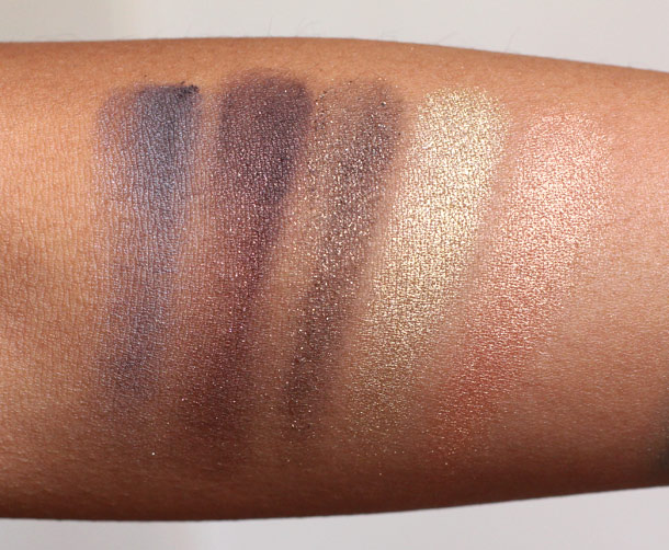Urban Decay Vice Palette Swatches 1