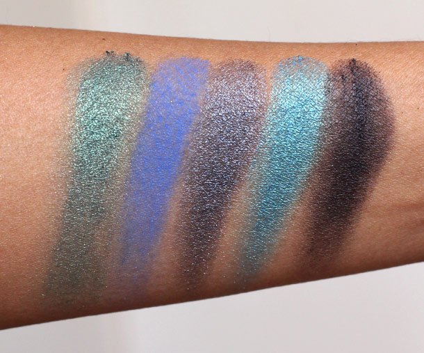 Urban Decay Vice Palette Swatches 2