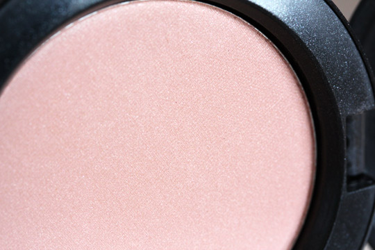 mac baby dont go blush swatch