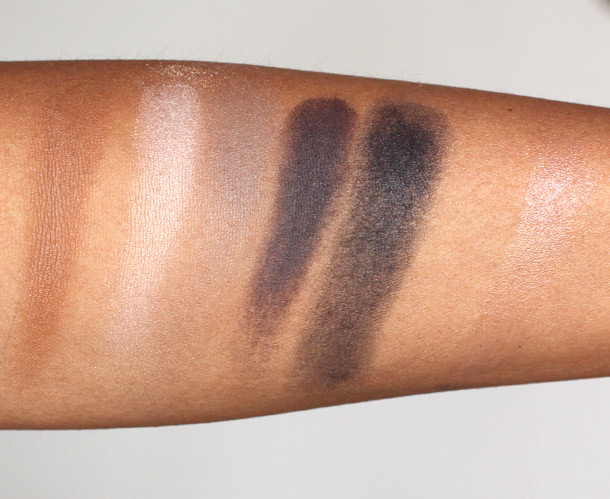 mac carine roitfeld swatches