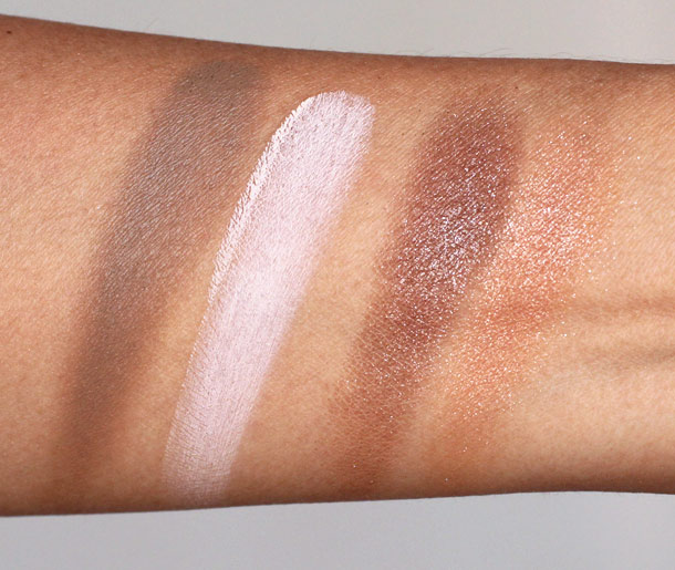mac and body swatches