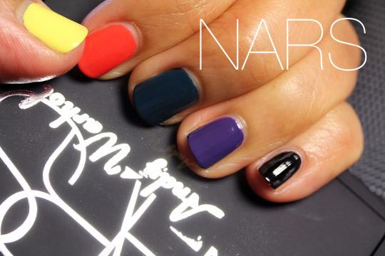 nars andy warhol nail polish