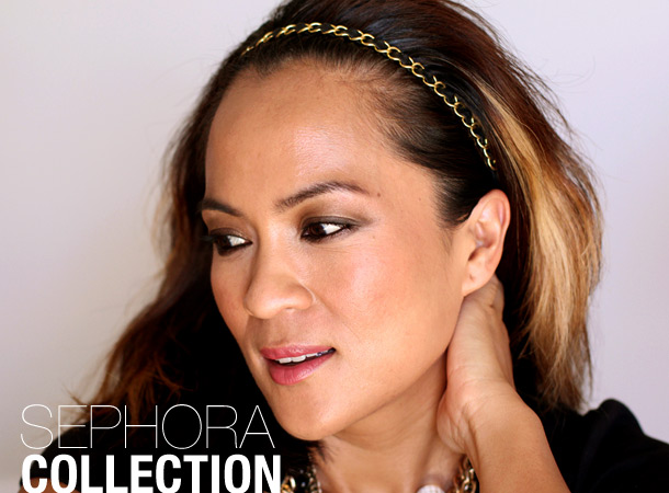 sephora collection gold chain headband