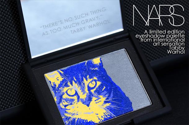 Tabs for NARS Tabby Warhol Eyeshadow Palette