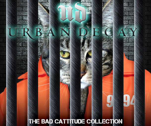 Tabs for the Urban Decay Bad Cattitude Collection