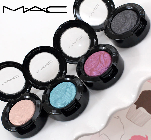 MAC Glamour Daze Extra Dimension Eye Shadows
