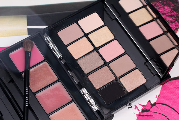 bobbi brown bellini lip eye palette-