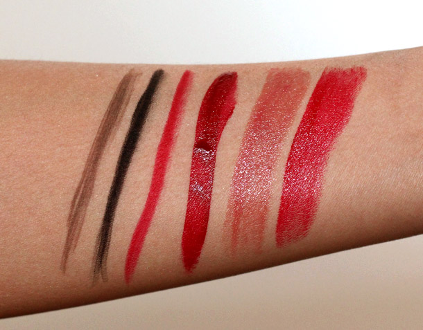 Hourglass Holiday 2012 Swatches