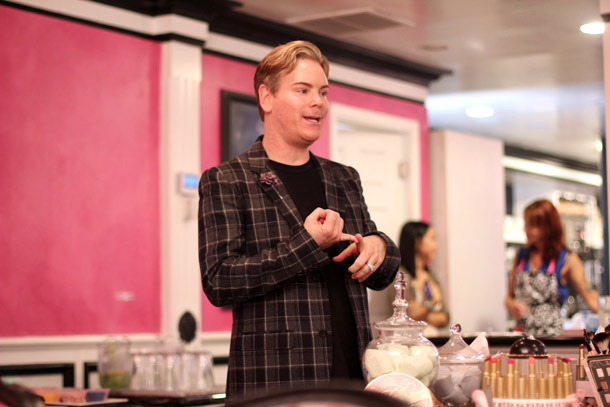 Too Faced Cosmetics Co-Founder and Creative Director Jerrod Blandino