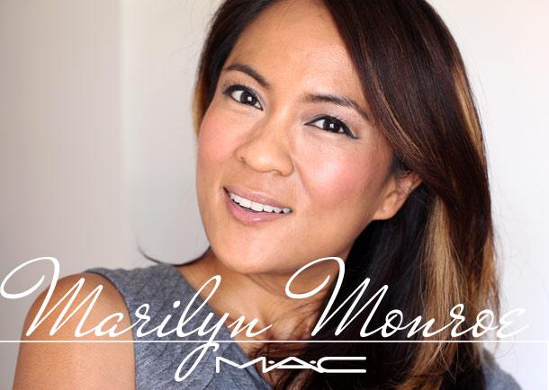 mac marilyn monroe legendary blush