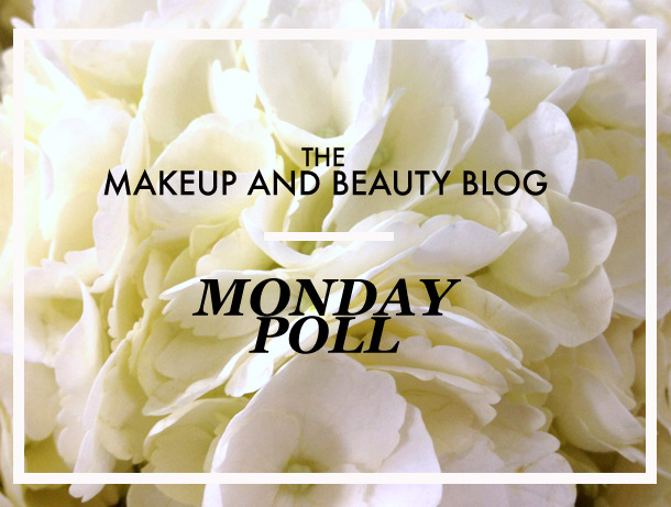 The One and Only Makeup and Beauty Blog Monday Poll!