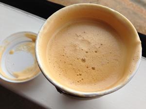 Starbucks Pumpkin Spice Soy Chai Latte