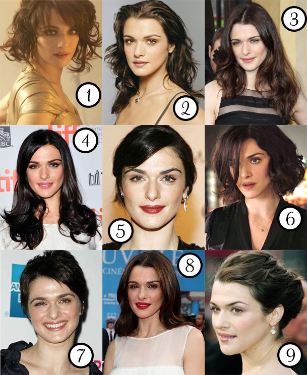 Rachel Weisz: her best hair?