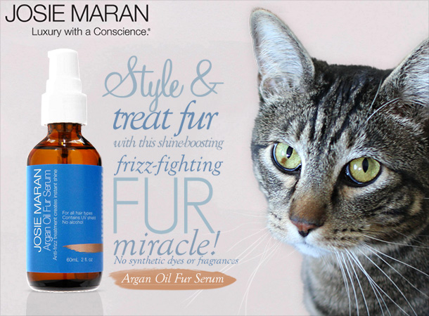 Tabs for Josie Maran Fur Serum