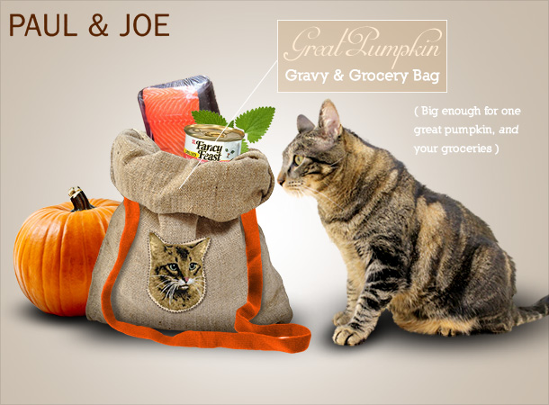 Tab for the Paul & Joe Great Pumpkin Gravy and Grocery Bag
