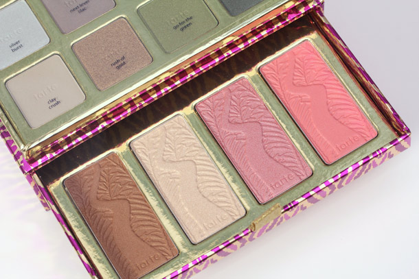 tarte the big thrill gloss blushes