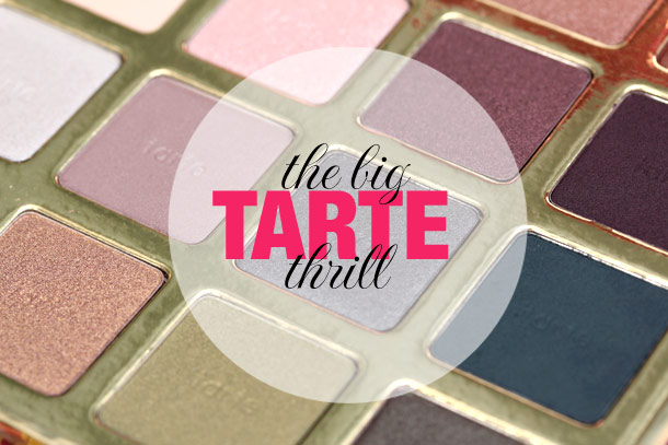tarte the big thrill